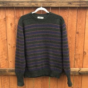 Lord Jeff | Striped wool sweater